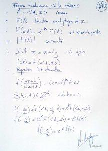 46725 - Forme Modulaire via le réseau. (Dessin)