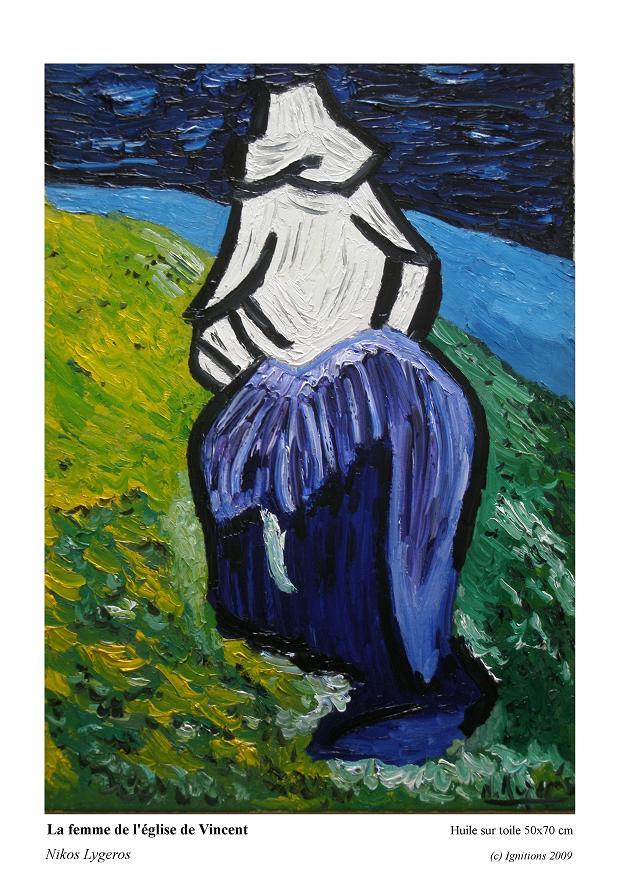 La femme de l'église de Vincent