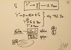 47792 - XXII – 5ο Masterclass Πολυκυκλικότητας, Μυστράς. (Dessin)
