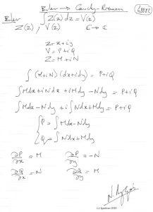 48882 - Euler -> Cauchy - Riemann. (Dessin)