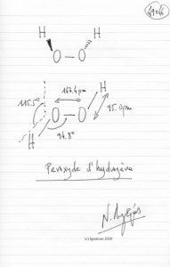 49046 - Peroxyde d'hydrogène. (Dessin)