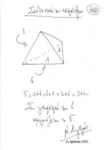 49427 - Συνδυαστικήτου τετράεδρου. (Dessin)