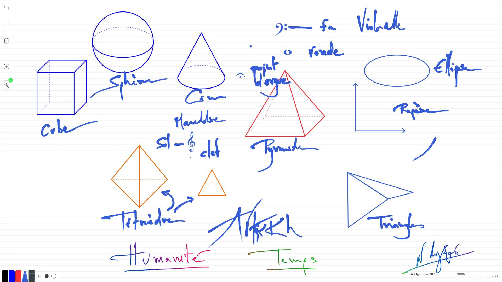 55379 - e-Leçon : Formes géométriques etCompréhension orale. (Dessin)