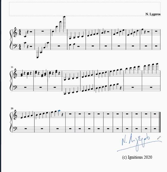 55732 - e-Μάθημα: Solfège et Piano. (Dessin)