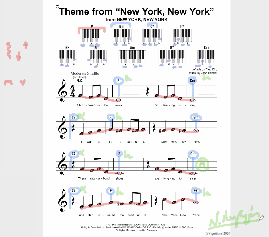 56010 - e-Μάθημα: Harmonie New York. (Dessin)