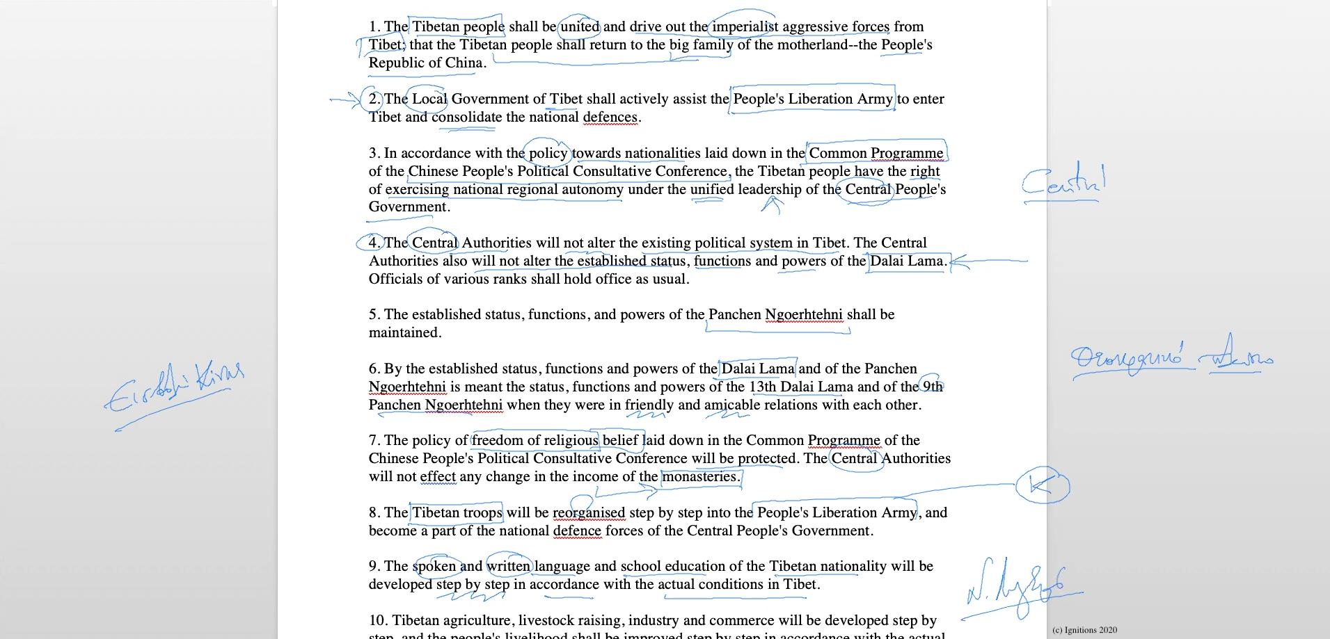 56239 - V - Ενάντια στην άγνοια και ο Αγώνας του Θιβέτ. Αγώνας III. (Dessin)