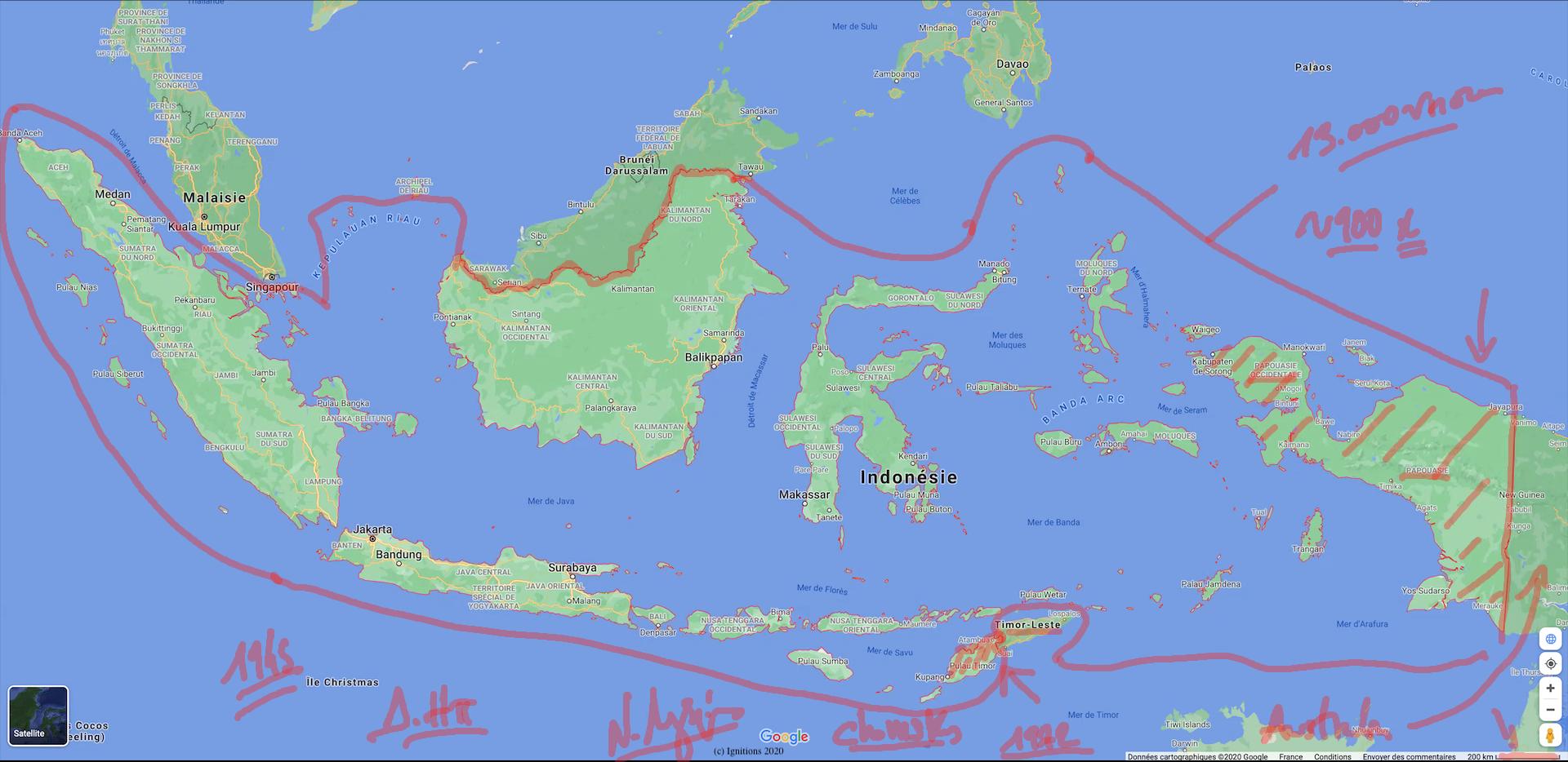56542 - II - e-Μάθημα: Χρονοστρατηγική ανάλυση Ινδονησίας. (Dessin)