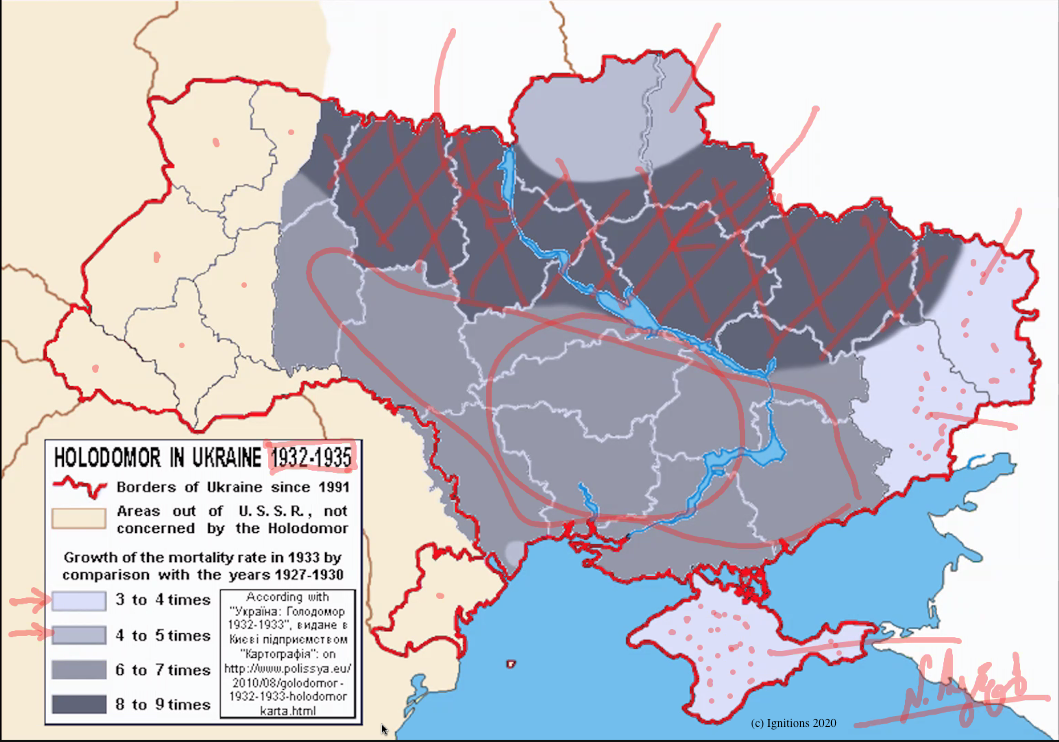 56751 - e-Μάθημα I: Γεωπολιτική Αναγνώρισης Holodomor. (Dessin)