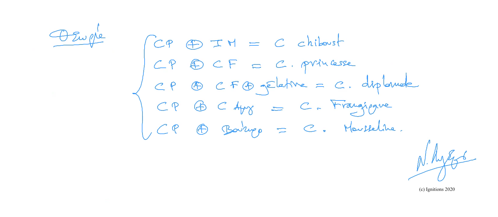 56787 - e-Μάθημα III: Πηγές και θεμέλια ζαχαροπλαστικής. (Dessin)