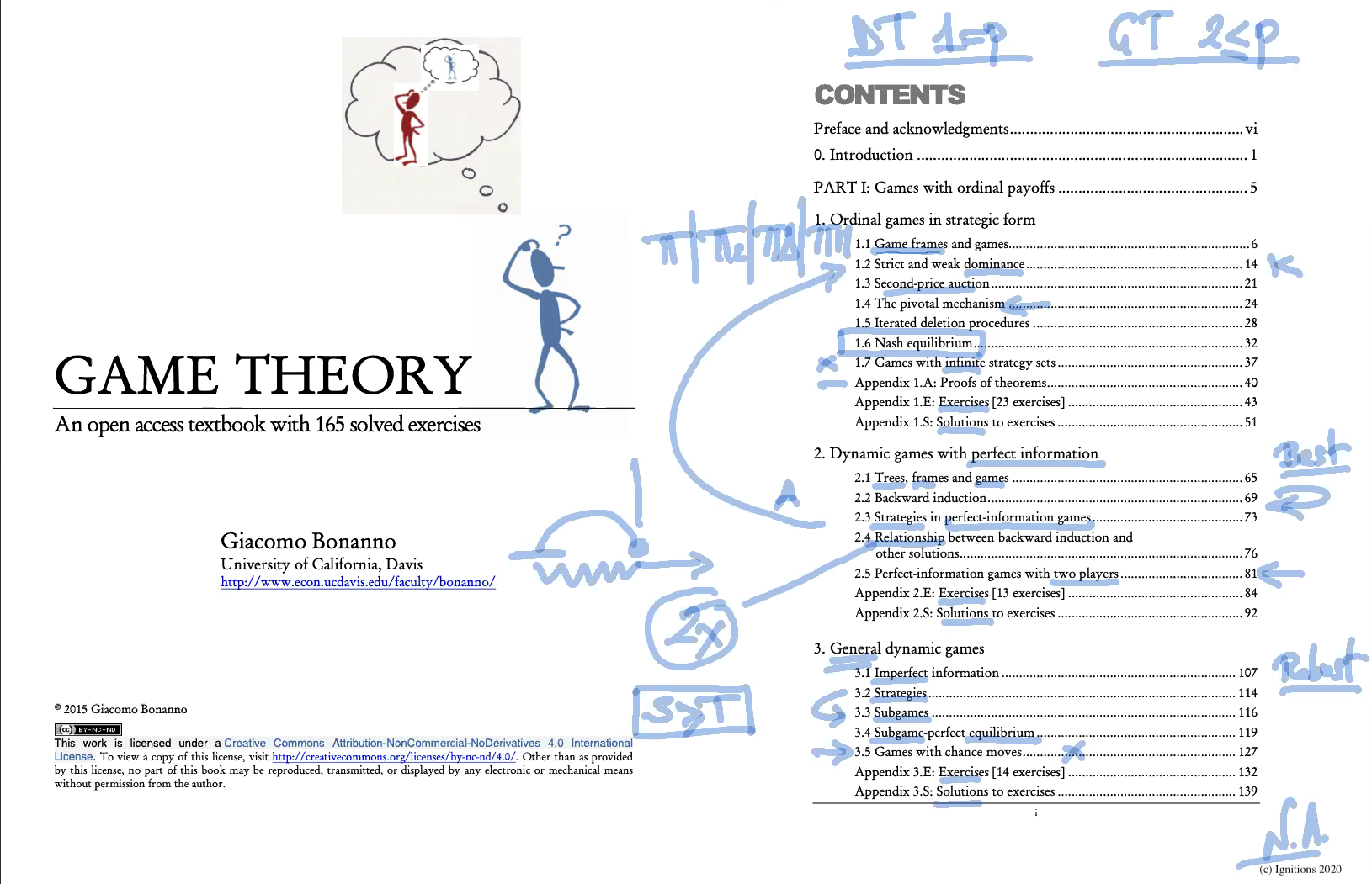 56817 - e-Lesson I: Introduction to Game Theory. (Dessin)