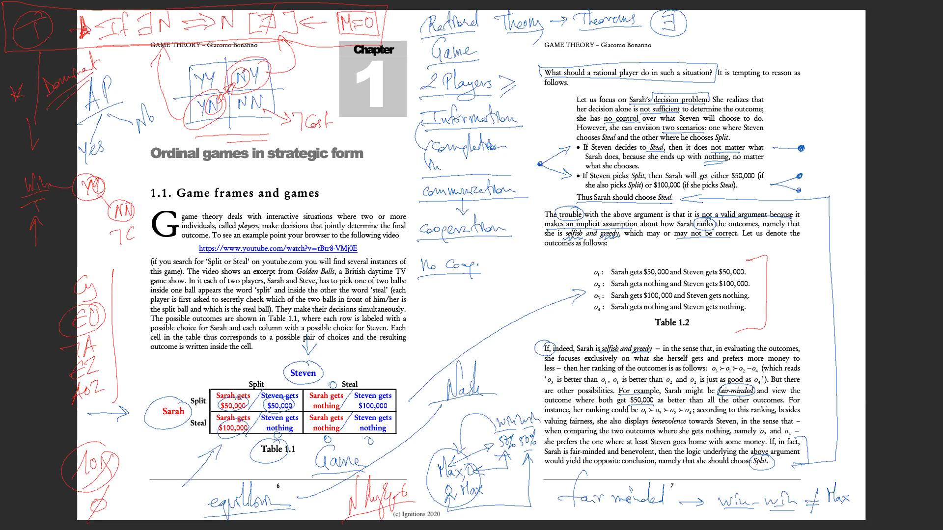 56962 - e-Μάθημα: Game Theory. (Dessin)