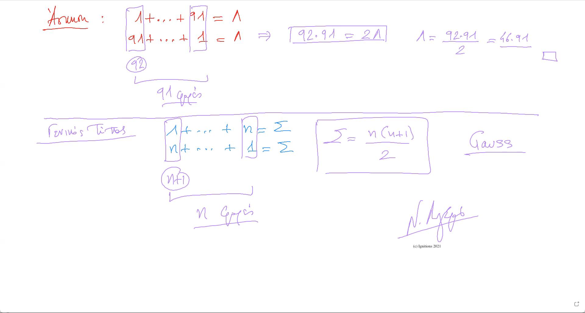 58723 - e-Μάθημα I: Μαθηματικά, ΆμυναTsigorine. (Dessin)