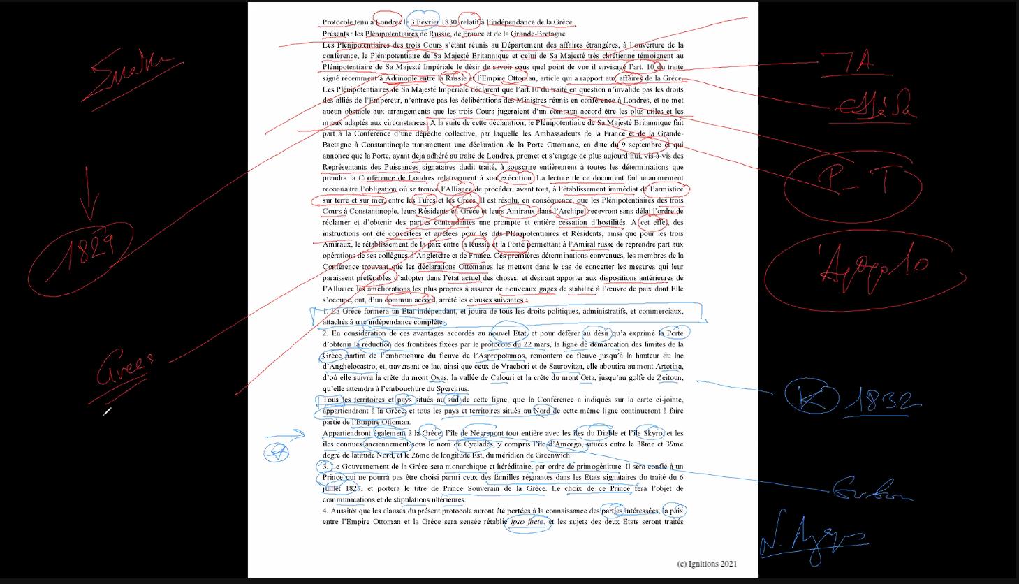 58953 - II - e-Masterclass: Επαναστατικές Συνθήκες. (Dessin)