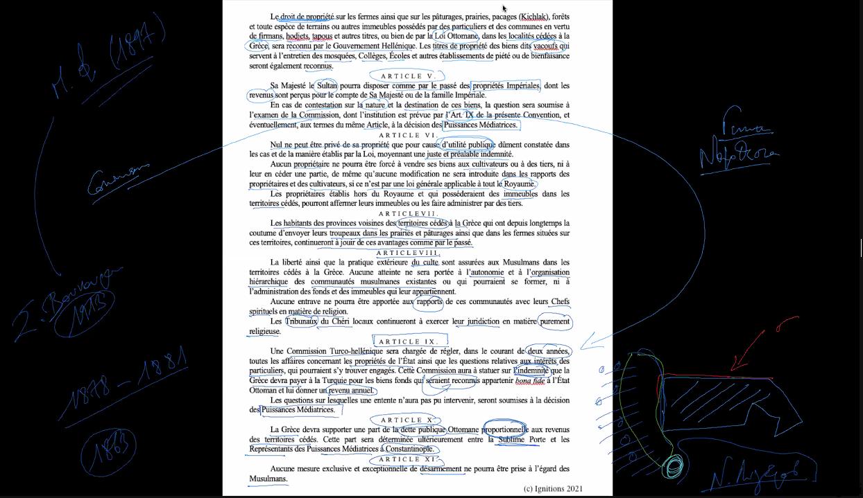 59086 - IV - Στρατηγική αναδίπλωση Ελλάδας και χρονικές γέφυρες. Επανάσταση IV. (Dessin)