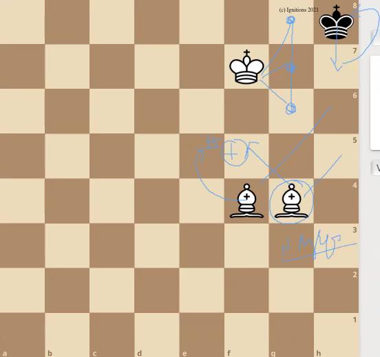 59153 - e-Μάθημα VI: Τεχνική ματ με 2 Αξιωματικούς. (Dessin)