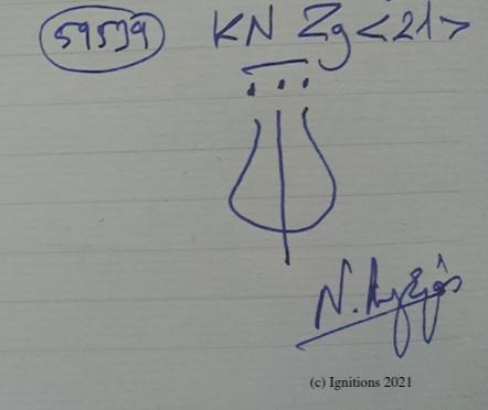 59539 - KN Zg . (Dessin)