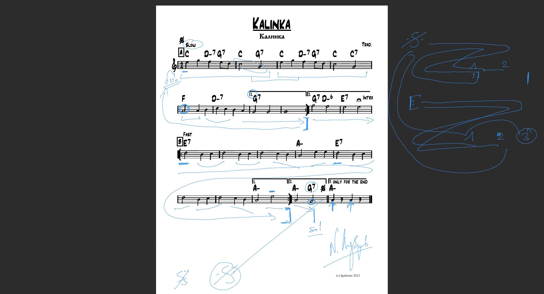 59711 - e-Μάθημα:Kalinka, μεταλλόφωνο και μαντολίνο.(Dessin)