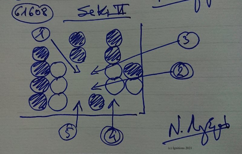 61608 - Seki II. (Dessin)