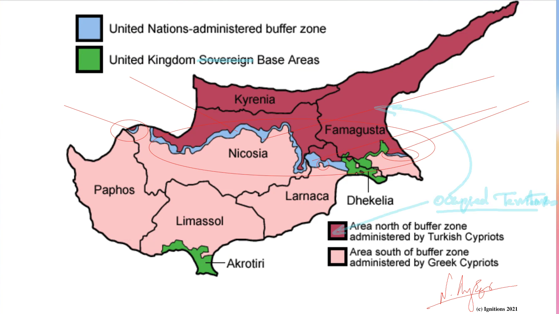 61937 - e-Μάθημα Ι: Τοποστρατηγική ανάλυση κυπριακού. (Dessin)