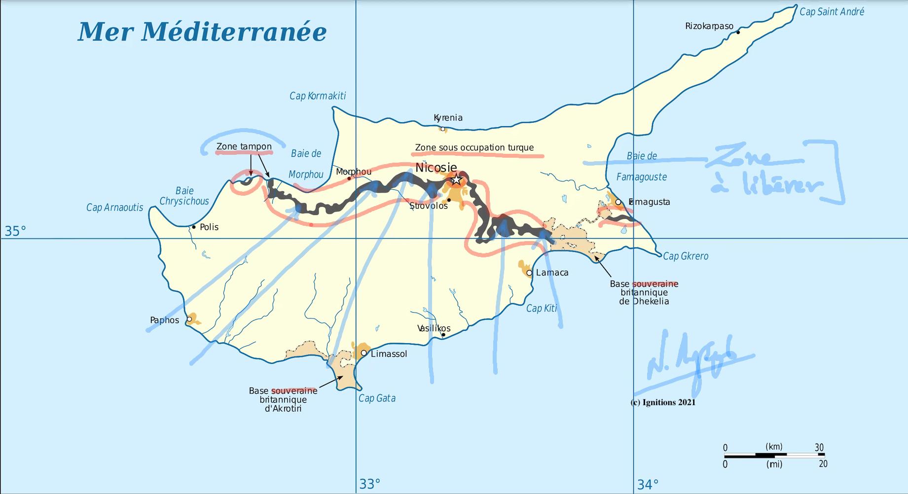 61938 - e-Μάθημα ΙΙ: Τοποστρατηγική ανάλυση κυπριακού. (Dessin)