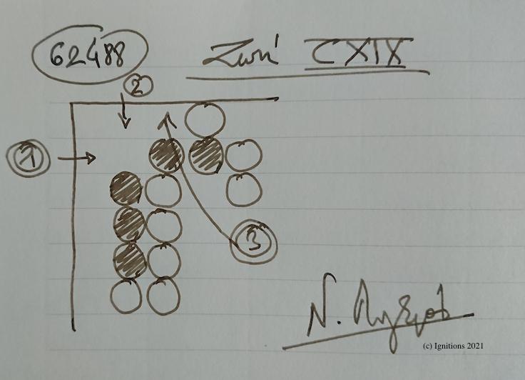 62488 - Ζωή CXIX. (Dessin)