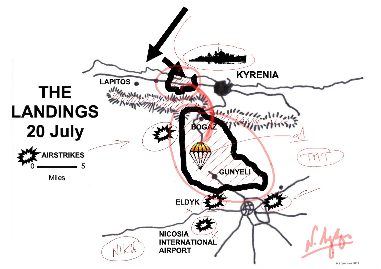 63517 - e-Masterclass V: Η Μάχη της Κύπρου. Covid Free. (Dessin)
