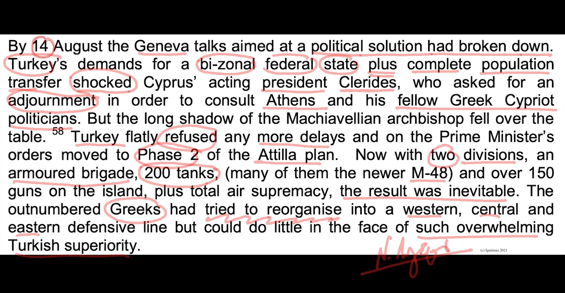 63521 - e-Masterclass IX: Η Μάχη της Κύπρου. Covid Free. (Dessin)