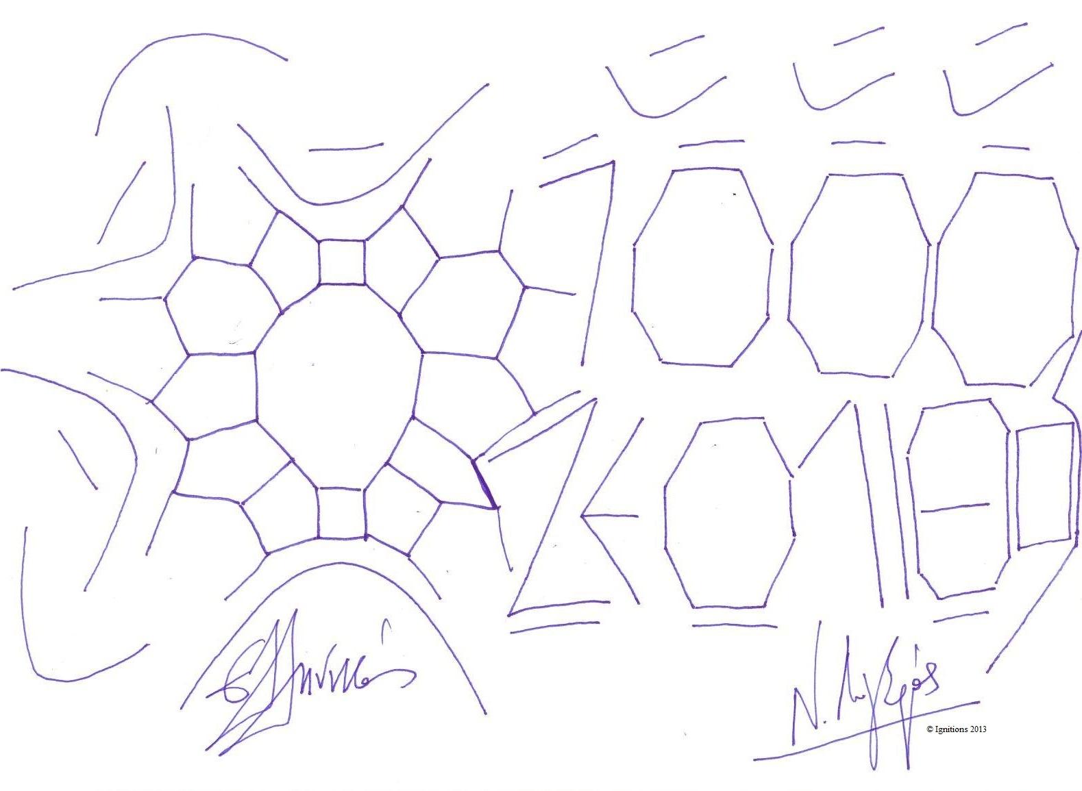 7000 υπογραφές για τον Ζεόλιθο (Dessin sur papier grain moyen, 21x14.8, A5).