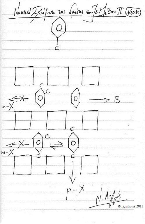 Νοητικά Σχήματα της δράσης του Ζεόλιθου II (Dessin sur cahier)