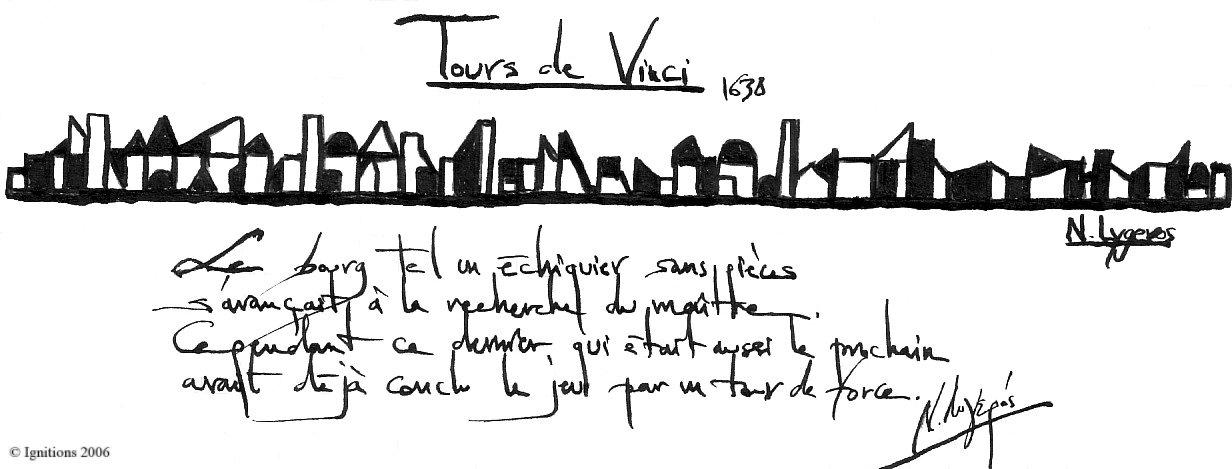 Tours de Vinci.