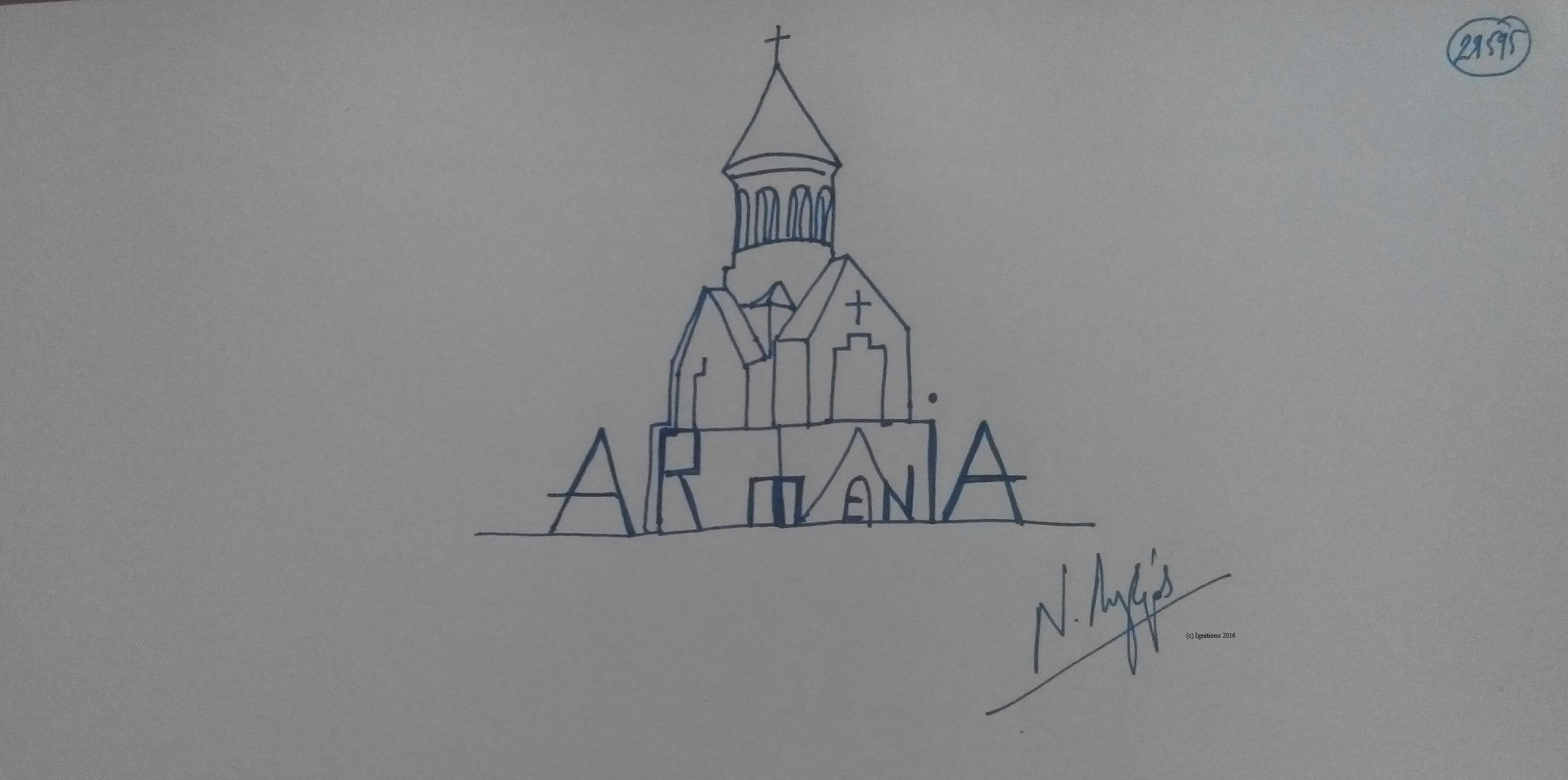 ARMENIA. (Dessin au feutre).