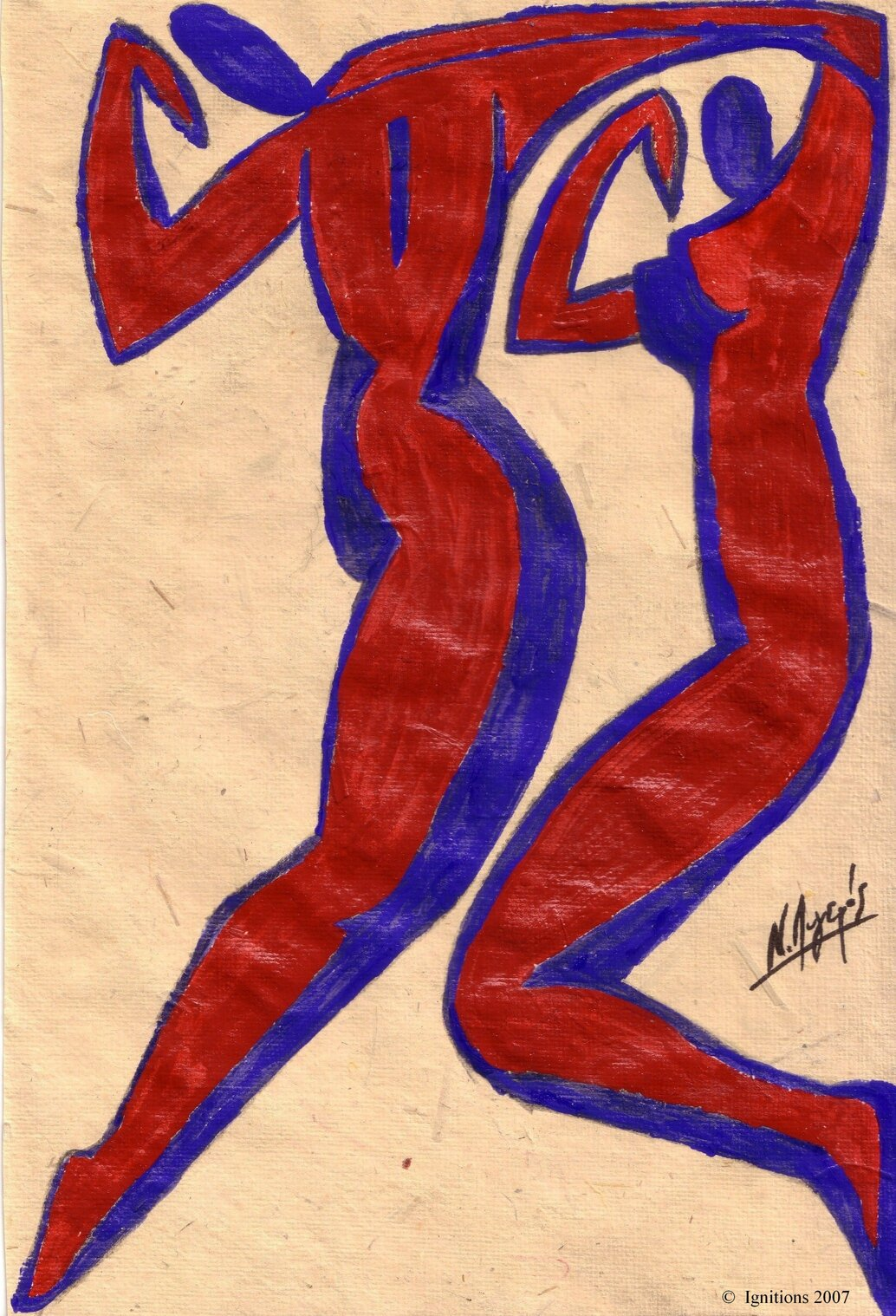 Χορός Πόθου. Danse du désir