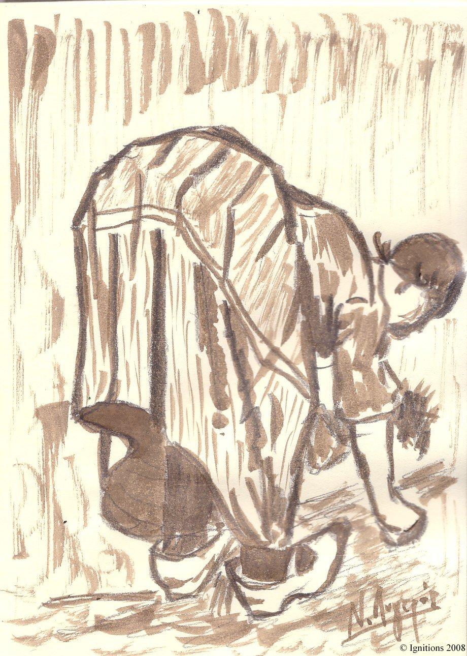 Jeune paysanne de Vincent I
