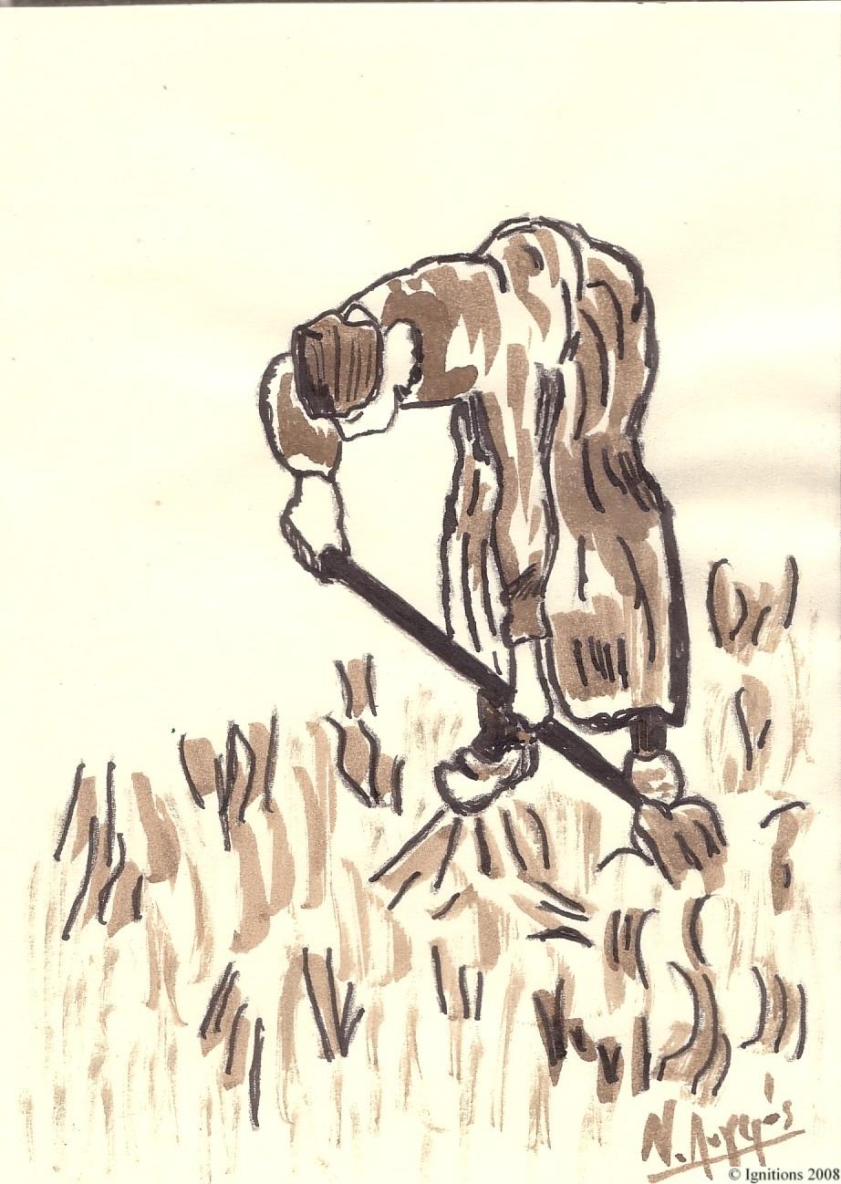 Jeune paysanne de Vincent II