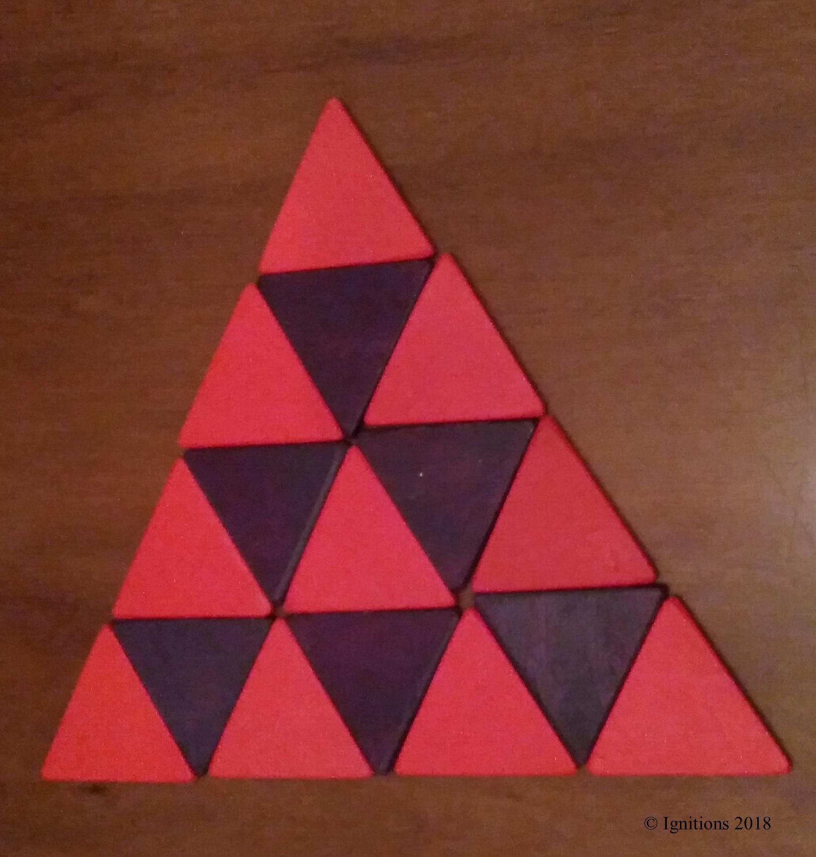 Sierpinski Triangle . (Construction)