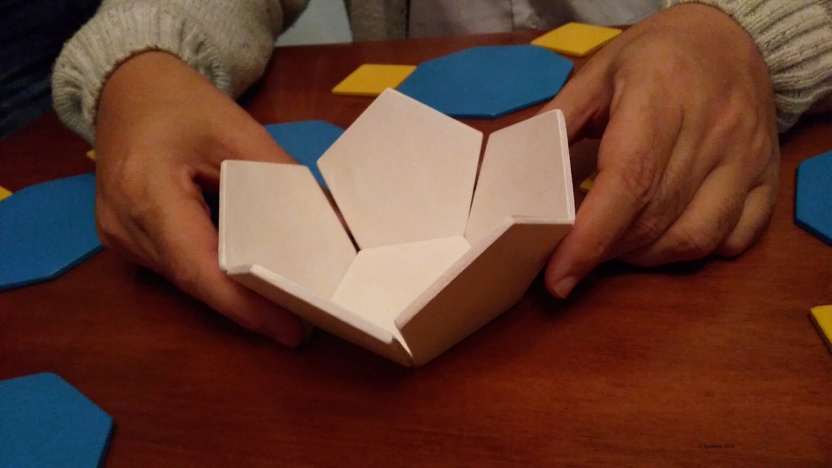 Hemi Dodecahedron. (Construction)