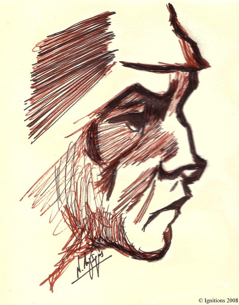 Tête d'homme de Vincent