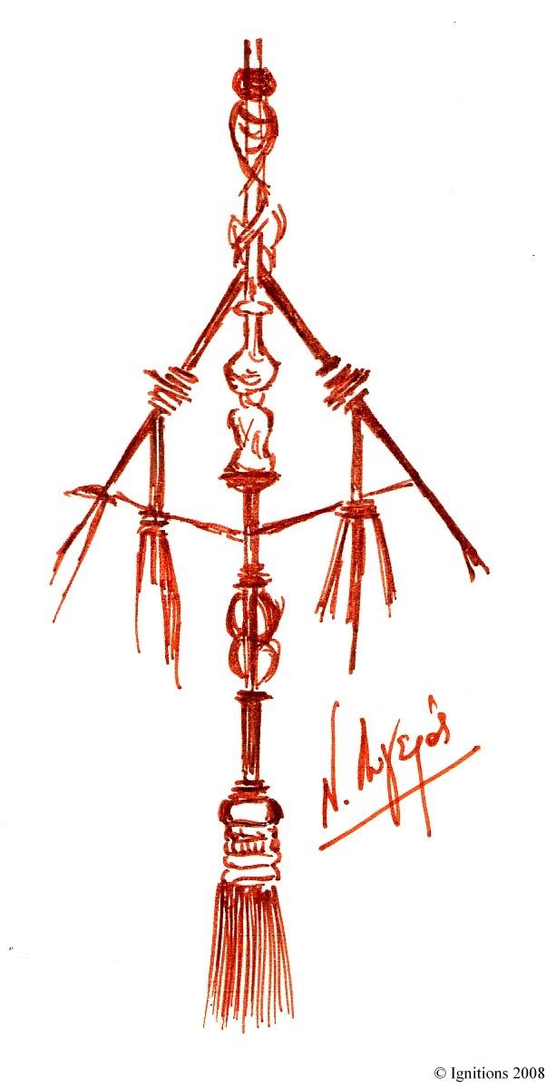 Motif ornemental de Leonardo da Vinci.