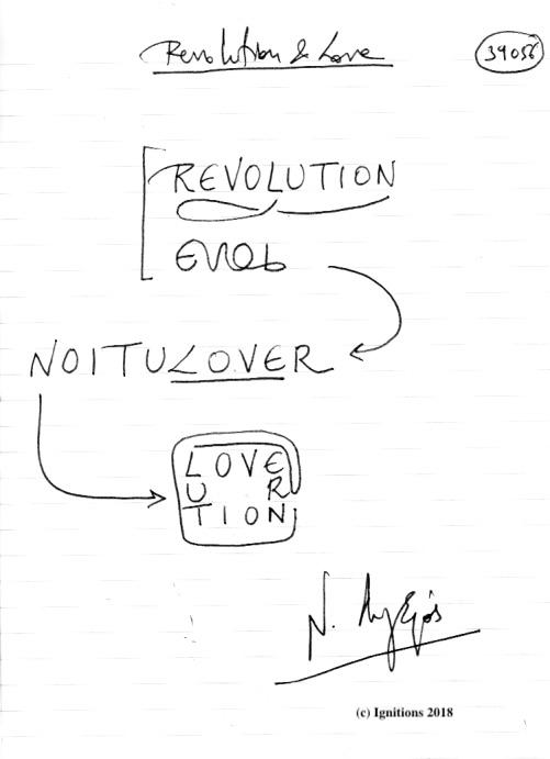Revolution & Love. (Dessin)