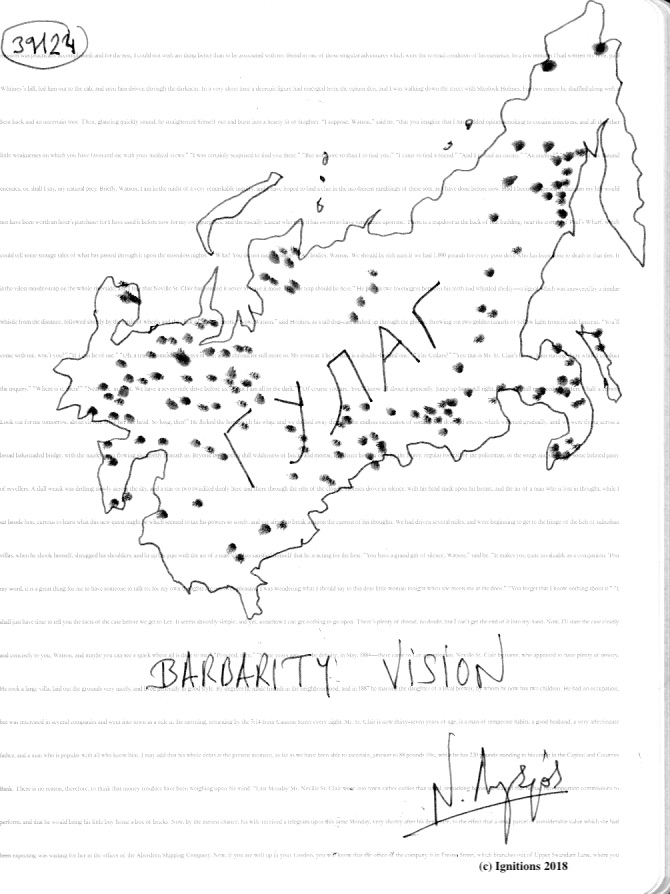 BARBARITY VISION. (Dessin)