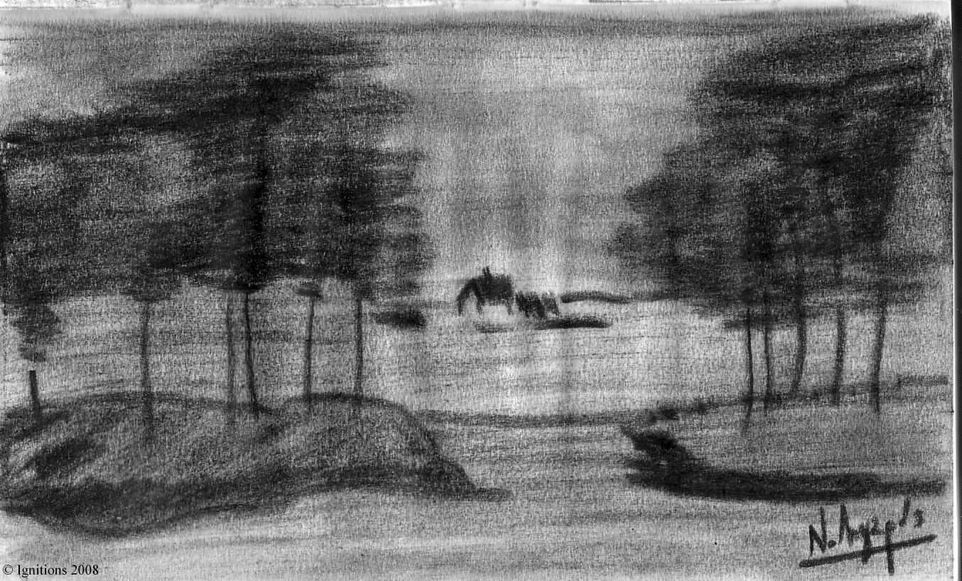 Paysage de Vincent.