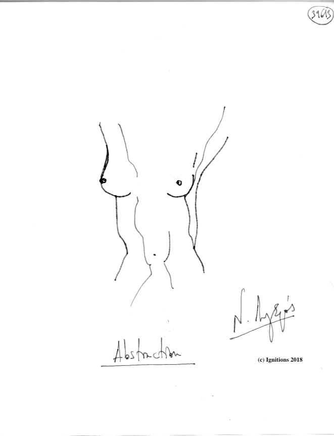 Abstraction. (Dessin)