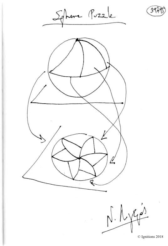 Sphere Puzzle. (Dessin)