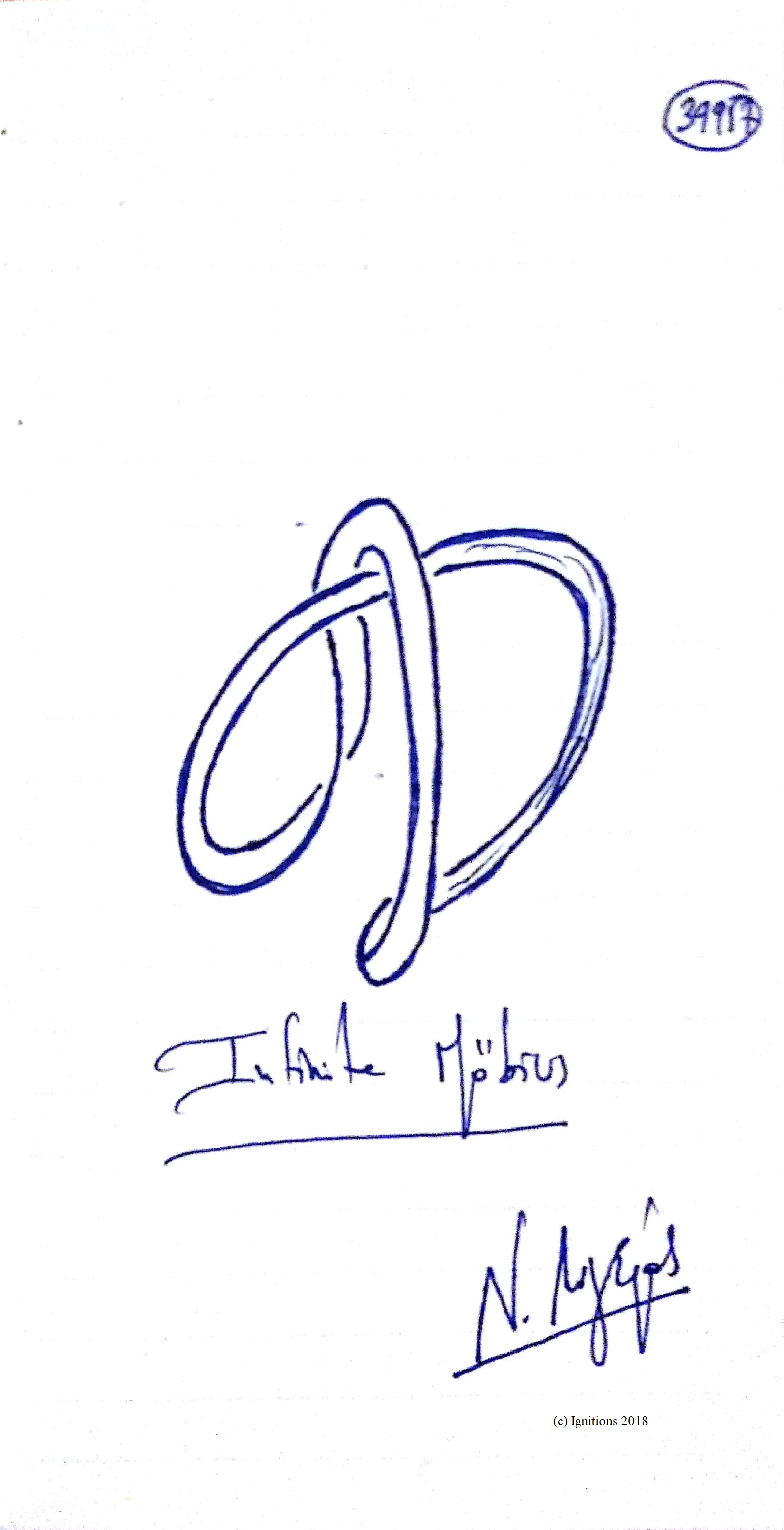 Infinite Möbius. (Dessin)