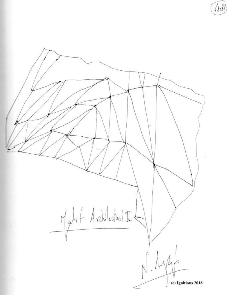 Motif Architectural II. (Dessin)