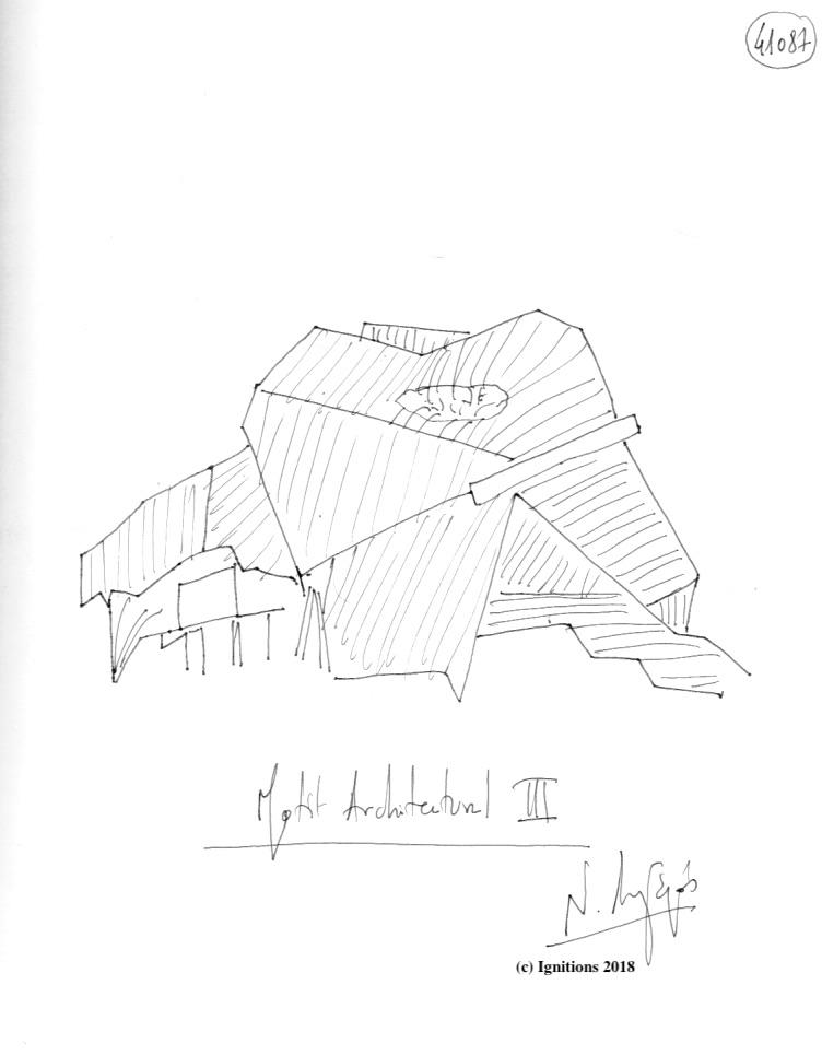 Motif Architectural IΙI. (Dessin)