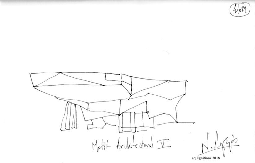 Motif Architectural V. (Dessin)