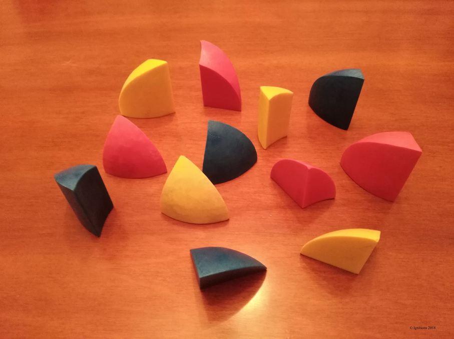 Hemisphere Puzzle. (Construction)