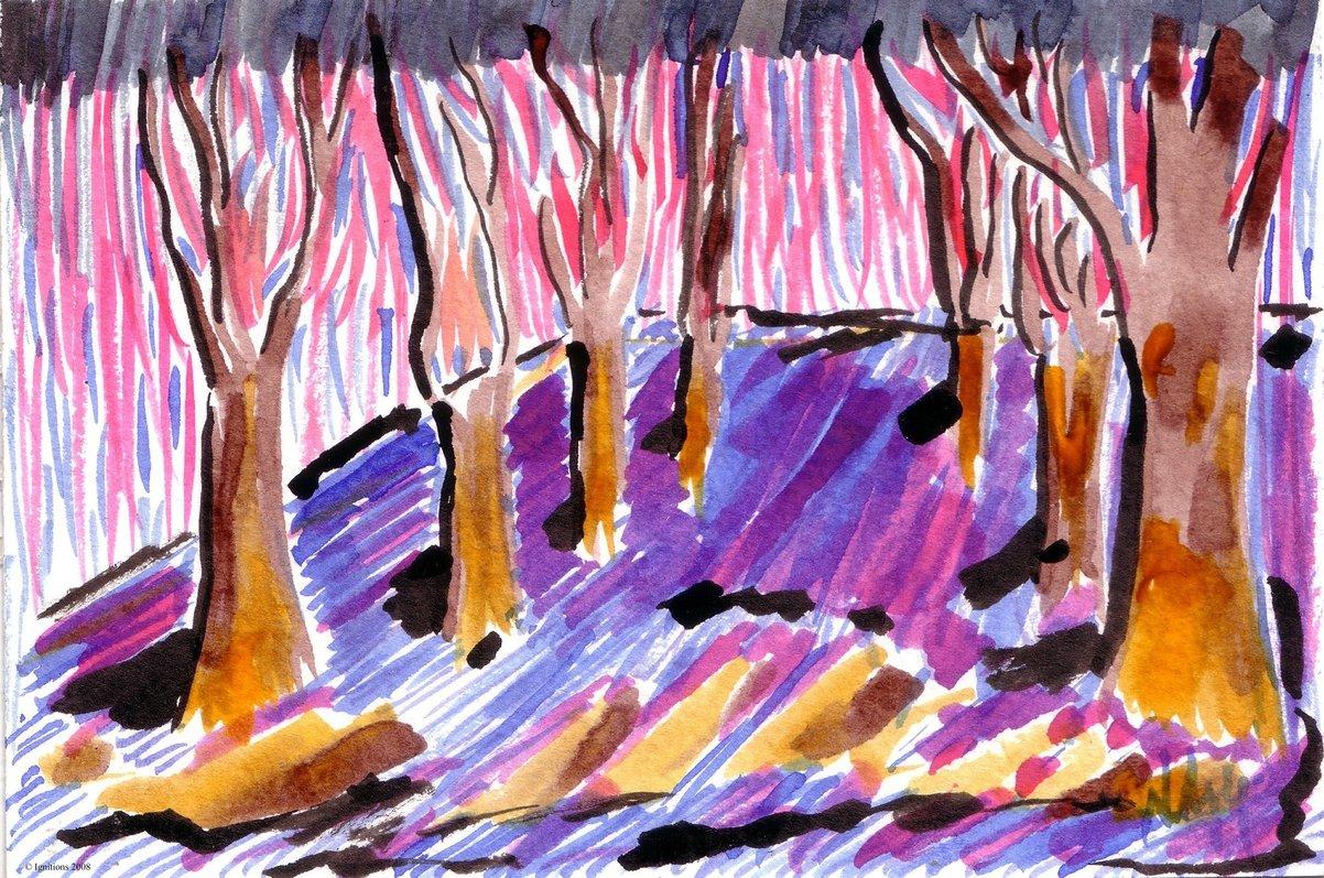 Promenade secrète de Vincent.