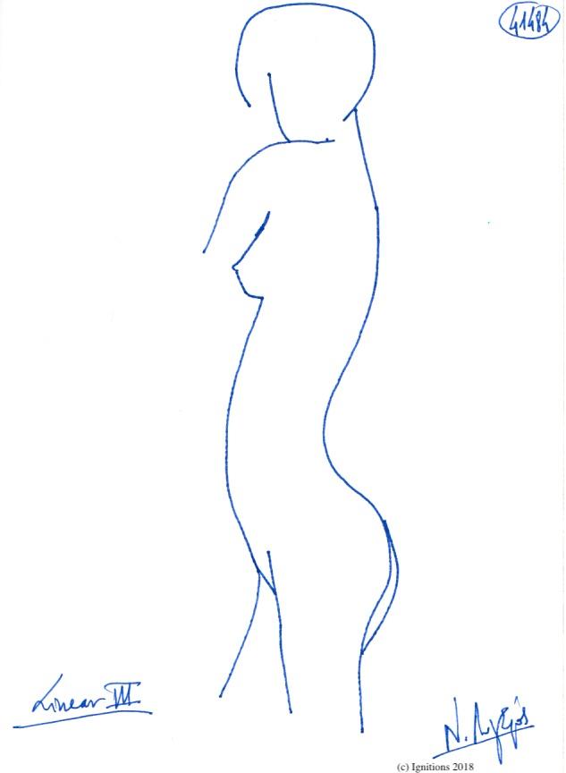 Linear IΙΙ. (Dessin)